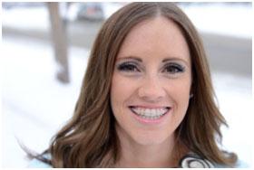 girl with Ceramic Braces Defay orthodontics